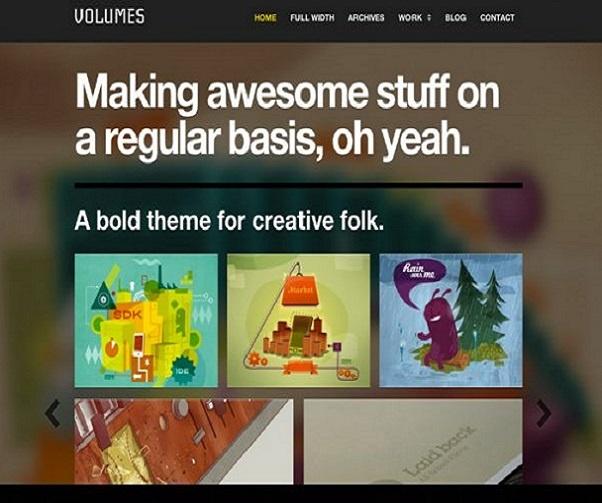 ThemeZilla Volumes WordPress Theme