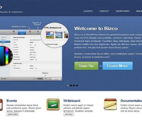 Themify Bizco WordPress Theme 1