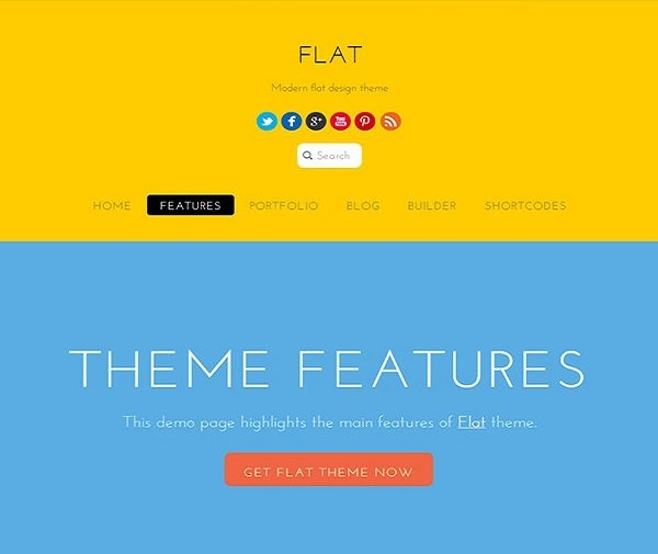Themify Flat WordPress Theme