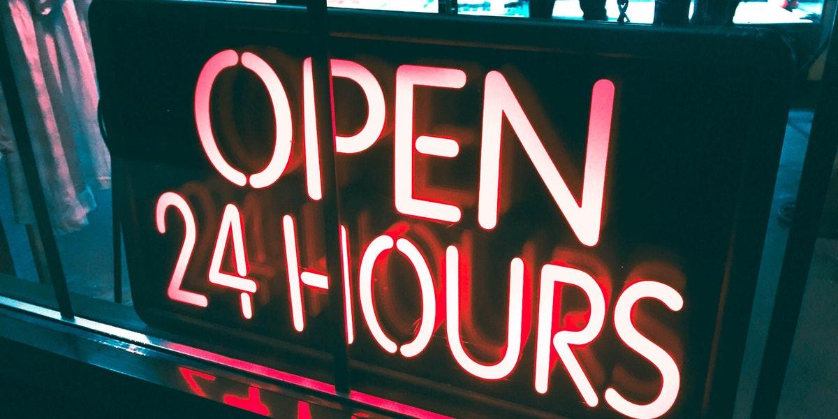 Open 34 Hours
