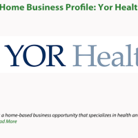 Home Business Profile: Yor Health