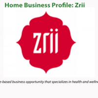 Home Business Profile: Zrii
