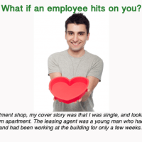 Mystery shopping dilemma: What if an employee hits on you?