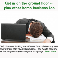 Get in on the ground floor — plus other home business lies