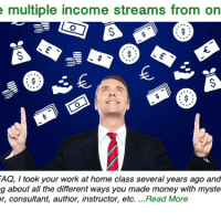 Create multiple income streams from one idea