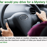 How far would you drive for a Mystery Shop?