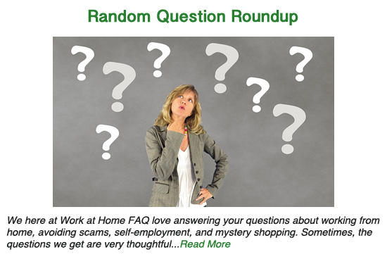 Random Question Round-Up – February 2019