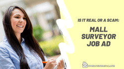Real or Scam: Mall Surveyor Job Ad