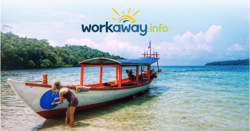 """Volunteers or """"Workawayers"""", are expected to contribute a pre-agreed amount of time per day in exchange for lodging and food, which is provided by their host."""