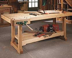 workshop bench design plans