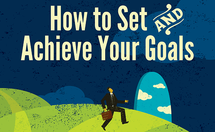 Infographic: How to Set and Achieve Your Goals