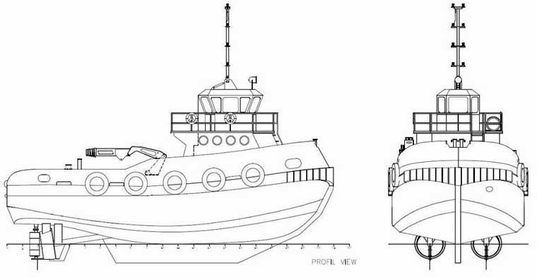 1,658 hp Twin Screw Push Boat