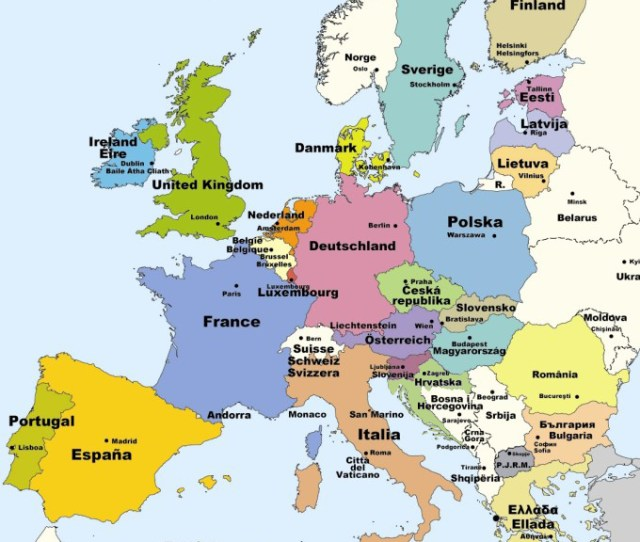Map Of European Industrial Relations National Industrial Relations Home Worker Participation Eu