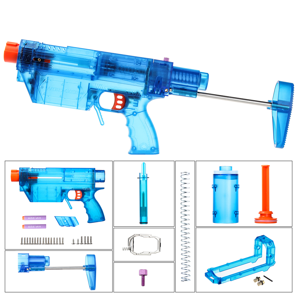 Worker Mod PDW-style Decorating DIY Kits for Nerf N-Strike