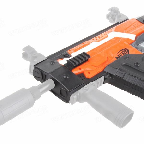 Worker Mod Kriss Vector Imitation Kit Combo 7 Items for Nerf N-Strike  Stryfe Blaster