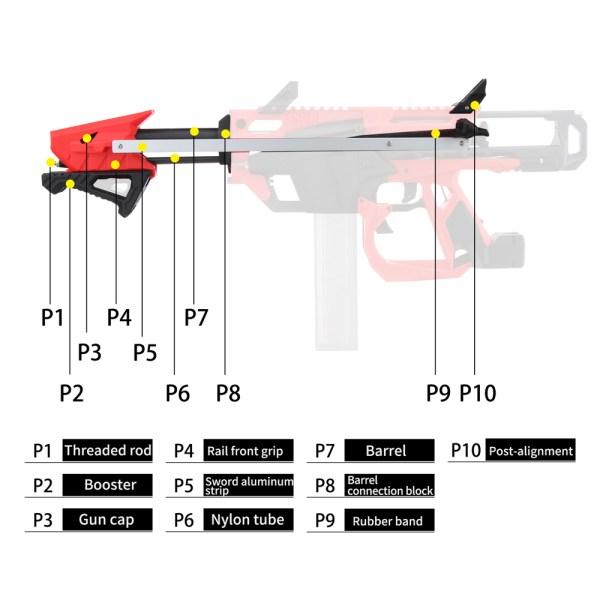 Worker Mod F10555 No 213 Esper Model A to Model B Transform Kits