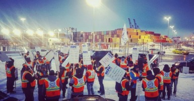 labour relations at the montreal port two major settlements and a bad employer