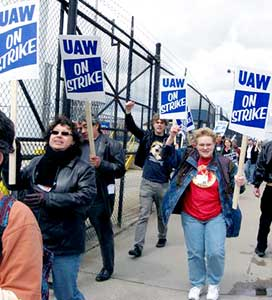 UAW strike is a magnet for workers<br>wanting to resist.