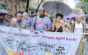 LGBT Pride march, June 29.