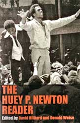 Cover of the 'Huey P.<br>Newton Reader.' Available<br>at Leftbooks.com.