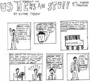 Cartoon: Kwame