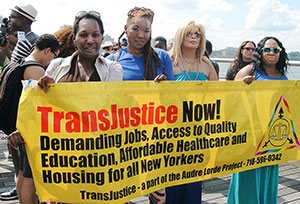 Trans Day of Action in New York on June 28.