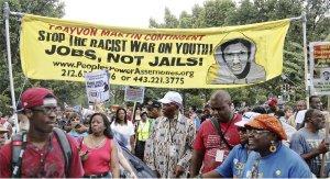 Trayvon Martin was on the minds of many in Washington, Aug. 24.WW photo Brenda Ryan