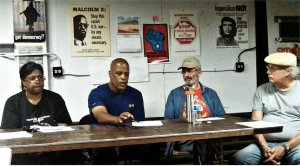 Colombian GM workers win solidarity in Michigan.WW photo: Abayomi Azikiwe