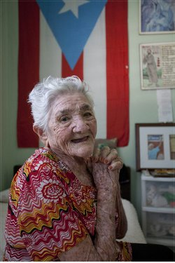 Isabel Rosado at 105.