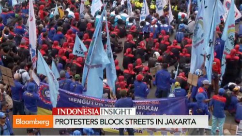 Indonesia strike