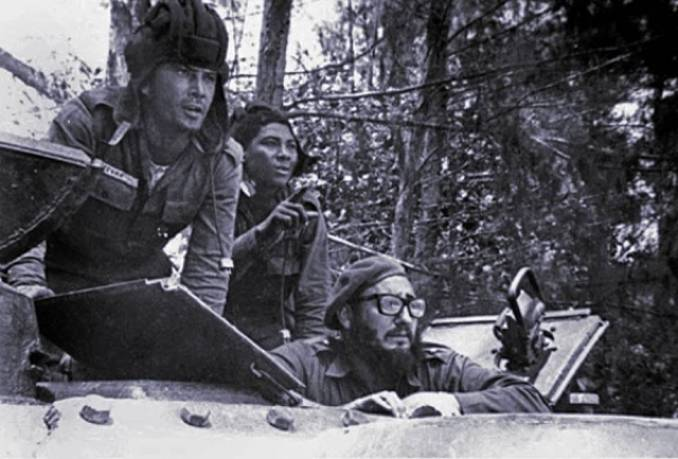 Cuba turns back Bay of Pigs invasion. Fidel explained, how in that forgotten area of small, impoverished coastal villages, the revolution had brought education and dignity to the people for the first time. They were not going back.