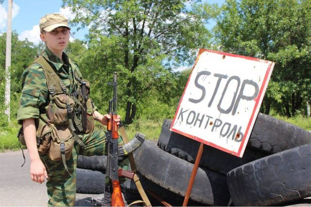 20-year-old militia woman from Lugansk: 'Fighting for a country where everyone will have equal rights'