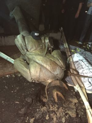 Image result for silent sam must come down flyer