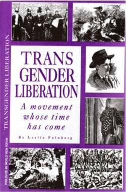 Book Cover: Transgender Liberation: A movement whose time has come