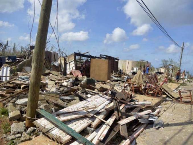 Maisí, a municipality of 29,000 in Guantánamo Province, Cuba, after Hurricane Matthew.