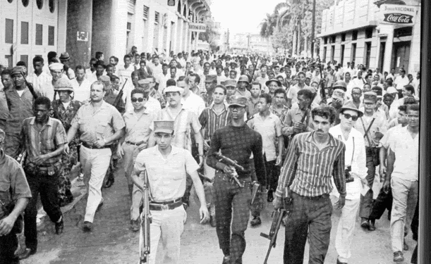 Dominican people mobilize to resist U.S. invasion and occupation.