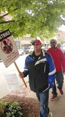 Strikers in Huntingdon continue West Virginia tradition of militant unionism.