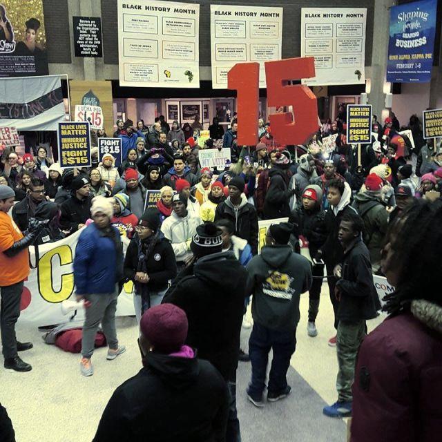Milwaukee. Photo: Youth Empowered in the Struggle - UWM