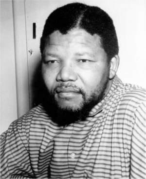 Nelson Mandela in 1962.