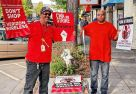 'Don't cross that picket line,' say workers in Oakland, Calif.