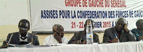 Senegalese left forces establish united group.Photo: Senegal Left Group