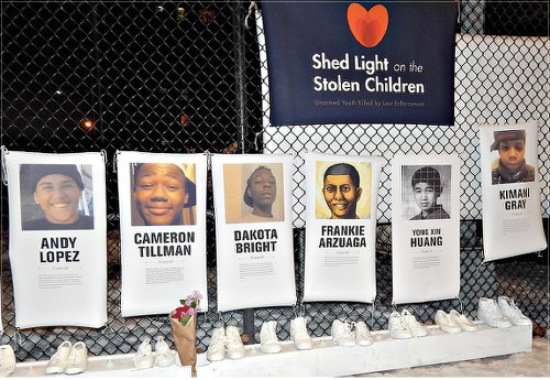 Stolen Lives rally focuses on Eric Garner