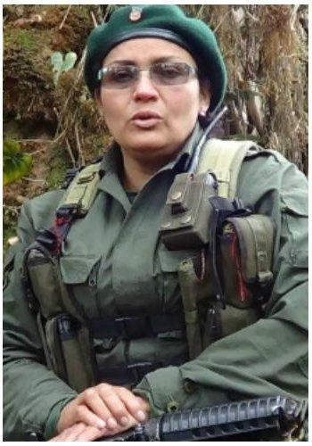 Victoria Sandino, a leading FARC-EP representative.
