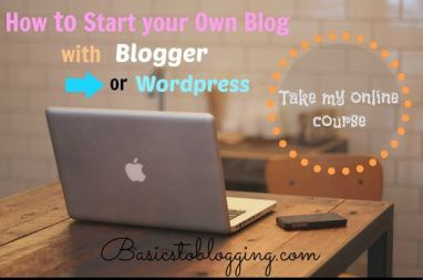 BasicstoBlogging