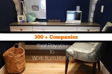 300+ work at home jobs