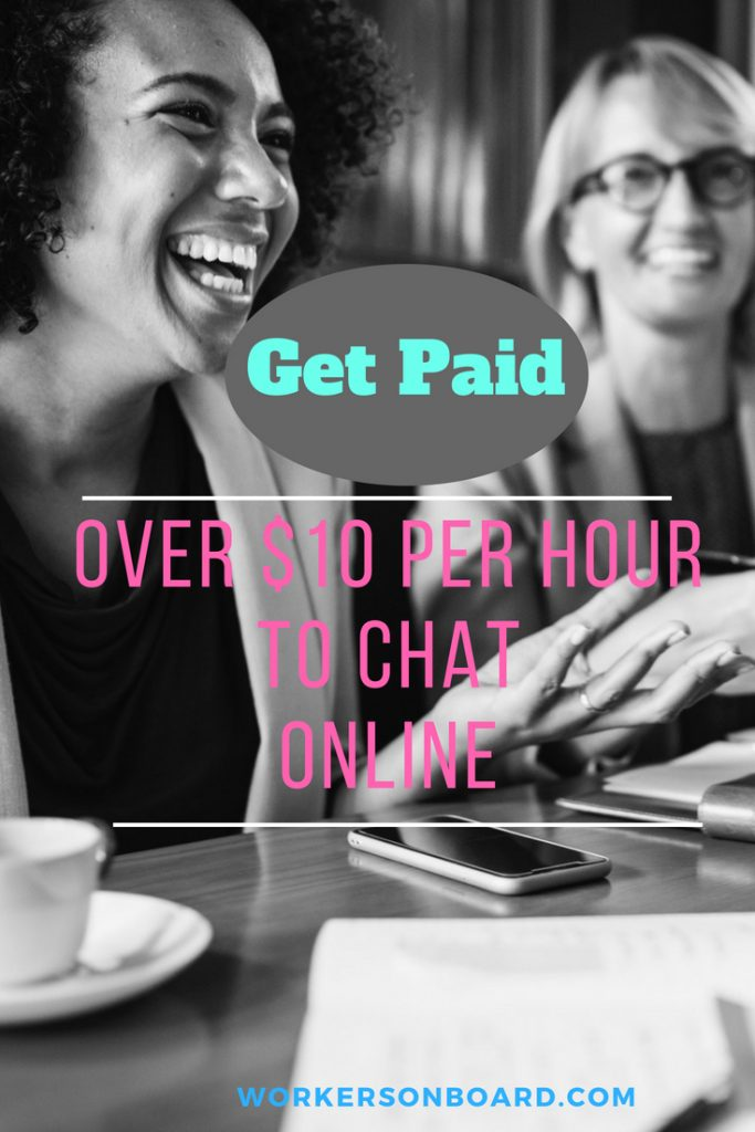 paid to chat online