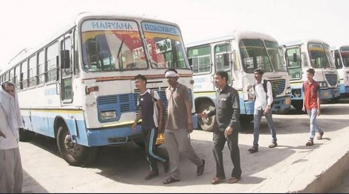 haryana roadways employees strike