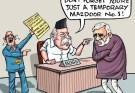 modi mazdoor cartoon