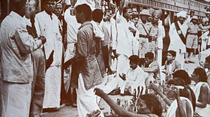 workers in ahemdabad 1916