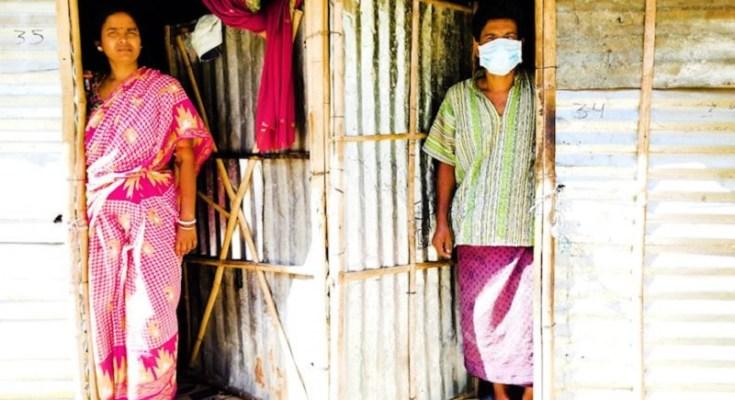 workers stuck in jharsa village gudgaon